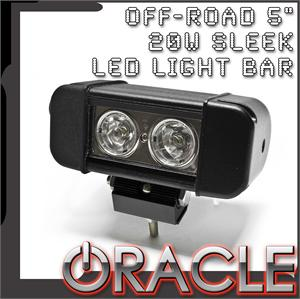 "5"" 20W Sleek LED Light Bar"