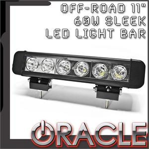 "11"" 60W Sleek LED Light Bar"