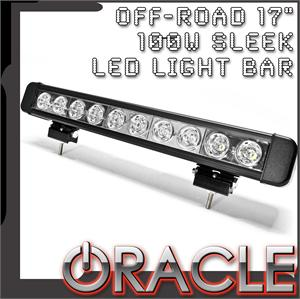 "17"" 100W Sleek LED Light Bar"