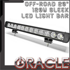"20"" 120W Sleek LED Light Bar"