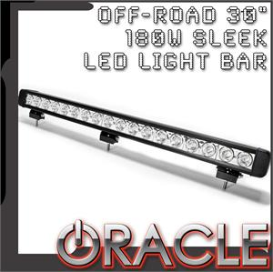 "30"" 180W Sleek LED Light Bar"