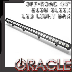 "44"" 260W Sleek LED Light Bar"