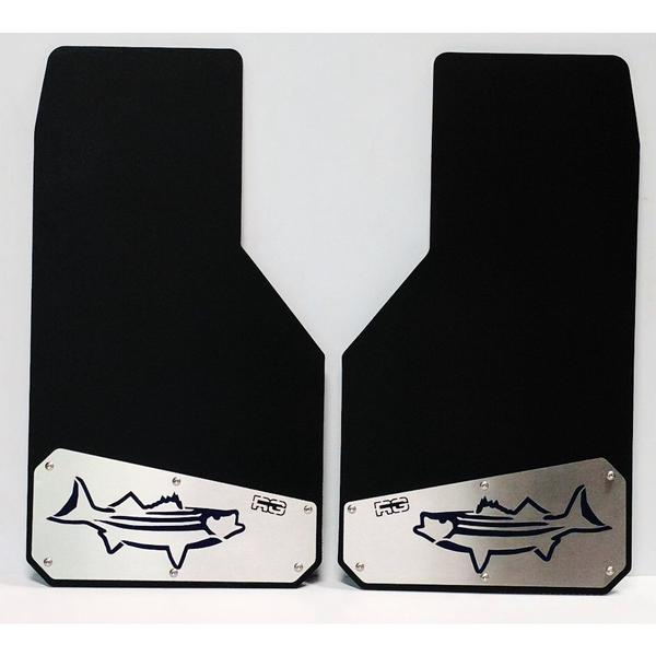 "RG Color Blocked ""The Catch"" Mud Flaps 1 pair ** FREE SHIPPING**"