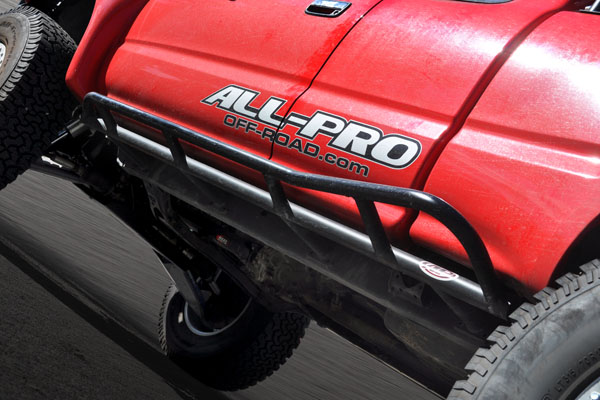 All-Pro Off-Road Tacoma Rock Sliders '95-'04 Double Cab
