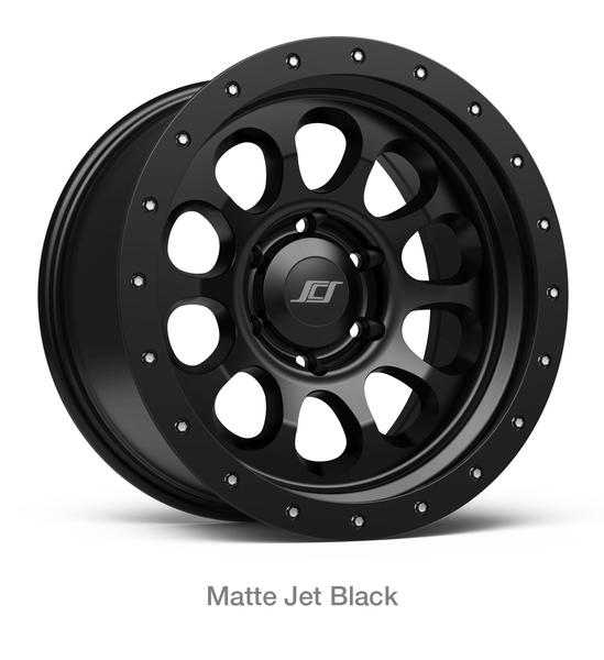 "Stealth Custom Series SCS Ray 10 16"" Matte Black Wheel"