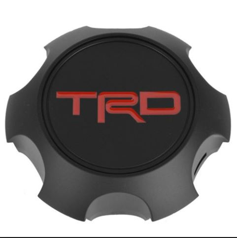 "TRD 17"" BLACK TRP PRO CENTER CAP"