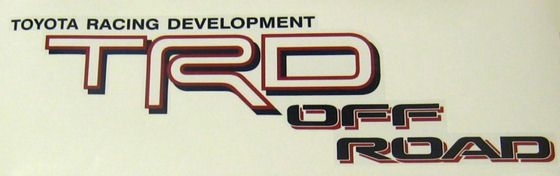 TRD Off-Road Logo Red/Black Tacoma 2005-2015