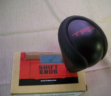 TRD Leather Shift Knob