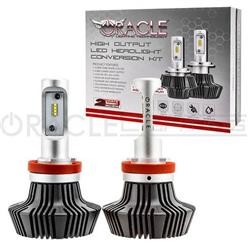 Oracle Headlight Bulb Set - H11 LED w/ 2 Connectors 2012+