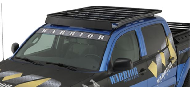 Warrior Tacoma Air Dam For Platform Roof Rack 05 15 4865 114 99 Pure Tacoma Parts And Accessories For Your Toyota Tacoma