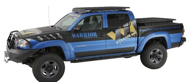 Warrior Smooth Black Steel Side Plates 4dr dbl cab 2005-15