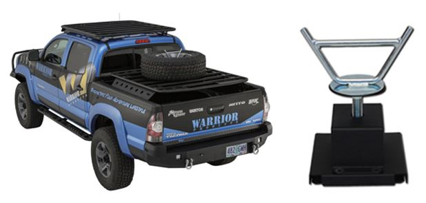 Warrior No-Drill Spare Tire Mount