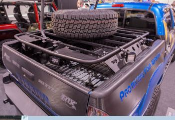 Warrior Products Tacoma Bed Rack 2005-16