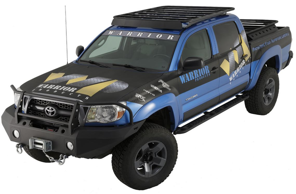 Warrior Tacoma Platform Roof Rack 05-16