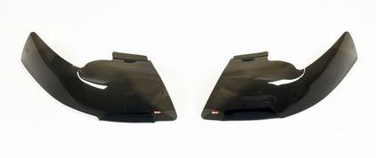 Smoke Headlight Cover Set by Westin; 1998-2000 Tacomas