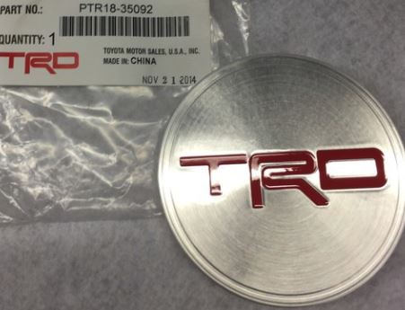 TRD Replacement Center Cap for 16in Beadlock Wheel