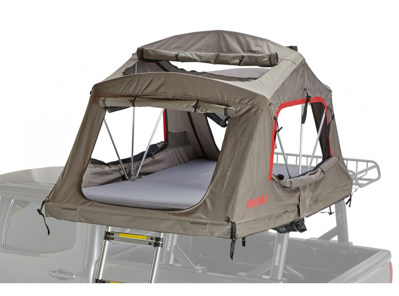 Yakima SkyRise Rooftop Tent - Heavy Duty 4 Season - Medium - Tan