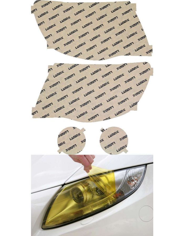Lamin-X Yellow Headlight Covers (05-11) Toyota Tacoma
