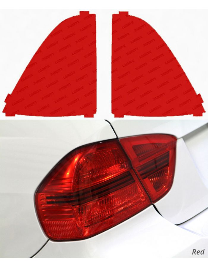 Lamin-X Red Tail Light Covers (05-11) Toyota Tacoma