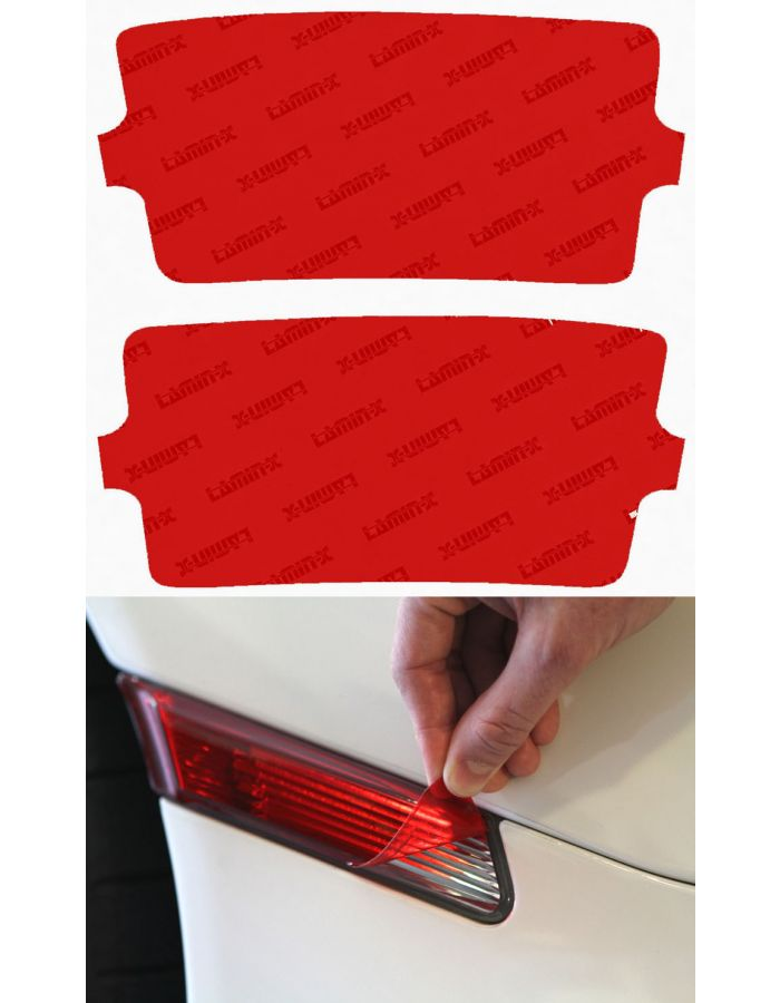 Lamin-X Red Reverse Light Covers (2016+) Toyota Tacoma