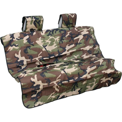 Aries Seat Defender Rear Bench Seat - Camoflage