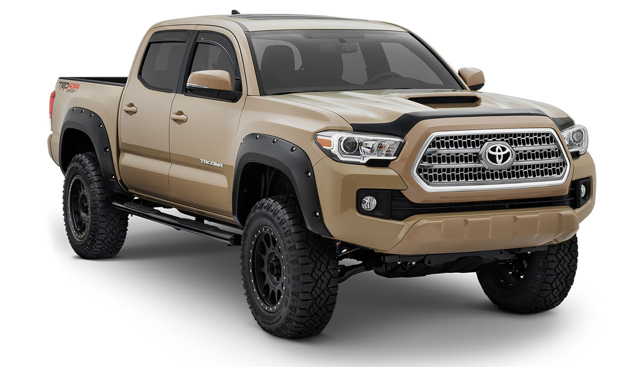 exterior pure tacoma accessories parts and accessories for your toyota tacoma. Black Bedroom Furniture Sets. Home Design Ideas