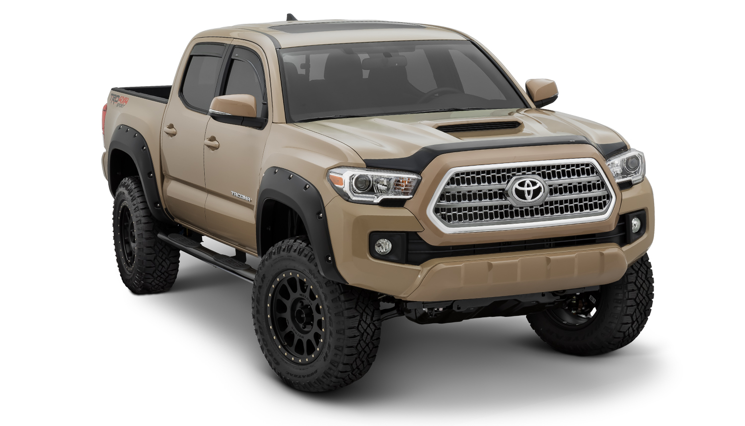2016 Toyota Tacoma Pocket Style Fender Flares 30922 02 499 00 Pure Tacoma Parts And Accessories For Your Toyota Tacoma