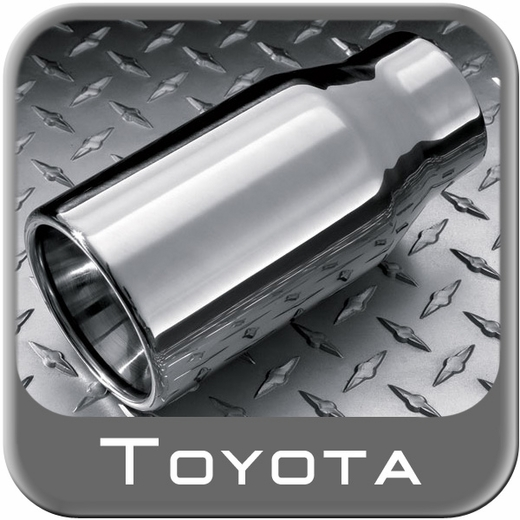 Tacoma Exhaust Tip Chrome - 2015-2017